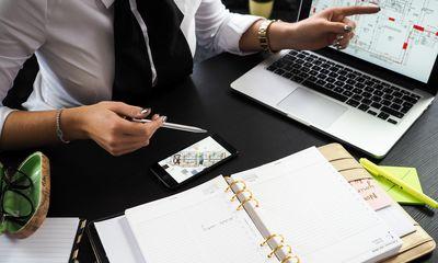 Architect Businesswoman Composition 313691